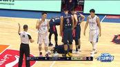新疆118-128广东 赵睿3秒受伤,易建联28+13率队夺赛点,费尔德空砍37分