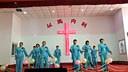河南许昌桂村教会圣诞节舞蹈