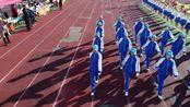 [航拍]抚顺市育才中学第43届运动会开幕式