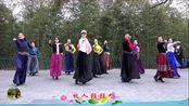 紫竹院广场舞《草原情》,隔离病毒,不隔离思念!