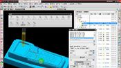 UG编程:第三十二节-仿真刀路参数设置+静态残留模型