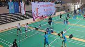 安徽省大学生羽毛球赛丙组男子双打决赛-安大王炳贺/王昭贺vs安师大