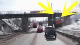 大货车司机的驾驶证真不是白拿的!次次化险为夷,让你心服口服!