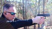 格洛克G44式小口径手枪,发射.22lr口径弹药,户外靶场射击测试!