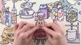 趣味定格动画,制作可爱的维生素饮料,太好玩了!