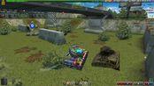 3d坦克-看看用m1激光和m1蜂王在随机匹配战斗中能拿几个人头 (无转化 不是演员)