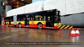 惊了 LEGO RC Solaris Urbino 18 Articulated Bus moc 详解