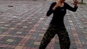 临沂市河东区相公镇茅茨广场练习陈氏56太极拳2017年10月1号下午雨天锻炼