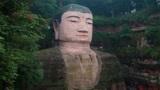 乐山大佛头部的秘密,隐藏多年,维修时才被人们发现