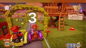 成功把《一起玩农场》玩成《QQ飞车》