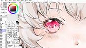 【摸鱼记录】{ff14}画赠图+上色练习