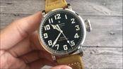 匠心钟表:kw真力时飞行员系列 钢壳大飞评测