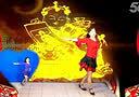 2014新年拉丁风格《敲敲门》湖北黄石千丝万柔广场舞 编舞格格