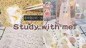 【抹茶】STUDY WITH ME|许久不见的周六阳光|大半天时间在学历史