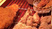 【团子的吃喝记录】上海日料店丸龟制面:炸鸡肉串(更多图片评论在微博:到处吃喝的团子)