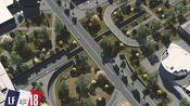 【小法】第十八集 - 办公区绿顶大道 #都市天际线 Boulevard tunnel with green overpass