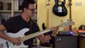 我是乐手 @ bopian.com Treasure - Bruno Mars, Bass Cover by Gui Bodi