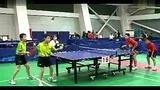 2013年山西省青少年乒乓球锦标赛男子双打刘彦龙、刘彥晨(忻州)