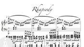 Andre Waignein Rhapsody安德烈萨克斯狂想曲伴奏