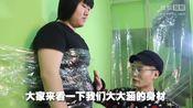 superB太:我把200斤的@Super大大涵 粘在了墙上,墙最后竟然...太恐怖了!(未经专业训