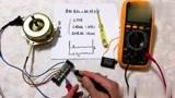 电工知识分享,单相电机电容接哪里?怎么找出电容端?边测量边接线