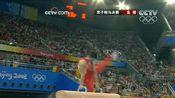 2008年中国北京奥运会体操男子鞍马决赛冠军:肖钦