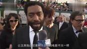 金球奖红毯切瓦特·埃加福特专访