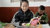 女儿去青岛过年,因疫情不能回家,作业也没带,心里这个着急啊