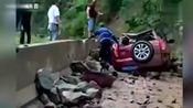 四川达州宣汉县发生山体滑坡 致1死4伤