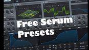 电音制作免费素材! Serum presets pack [DUBSTEP, HYBRID TRAP]