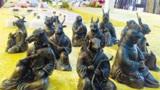圆明园遗址大发现:专家修复时挖出兽首铜像,难道是十二生肖?
