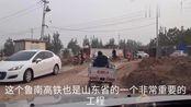 山东菏泽看牡丹机场,据说年通六座城,远期飞中国台湾省等地