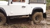 Defender Diaries- RC4WD Falken WildPeak AT 1.7' Scale Tires test wet experience
