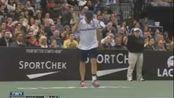 Andy Roddick imitates Maria Sharapova