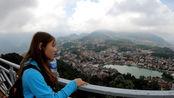 越南女孩带我去爬山,登上山顶看美景,sapa好漂亮啊
