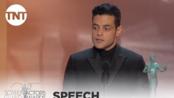 Rami Malek: Award Acceptance Speech | 25th Annual SAG Awards | TNT