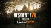 "生化危机7速通TA Resident Evil 7 Any% NG+ Easy Speedrun 1:36'53"""