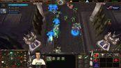 Grubby 魔兽争霸3 2v2 ToD Orc+HU v NE+HU Lost Temple
