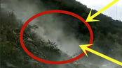 陕西安康镇发生山体垮塌,千斤巨石坠落,镜头拍下全过程
