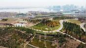 航拍郑州市区最大公园,3434亩,比肩杭州西湖,周末休闲好去处!