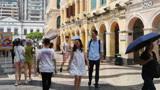 香港的内地游客少,来澳门看看旅游的人太多了