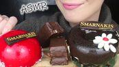 【saltedcaramel】助眠:糖浆慕斯蛋糕(巧克力-香蕉-草莓-香草)吃起来声音不说话(2019年10月19日23时5分)