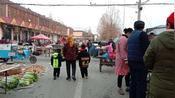 山东济宁邹城:  农村市集朴实的农村人