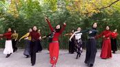 紫竹院相约杜老师舞蹈队表演《草原恋人》