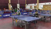 女子单打决赛_胡宏(西城)vs朱丽(东城)_2017年首届北京乒乓球裁判员联谊赛