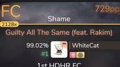 WhiteCat / Guilty All The Same [Shame] / +HDHR99.02%FC 729pp