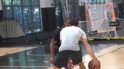 麦克·詹姆斯训练中单打集锦,几个创造空间好招