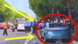 美女司机开车时捡早饭,反应不及撞死路人,处罚结果网友称太少!