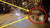 轿车被救护车撞出10米远,这是谁的责任呢?该怎么判!