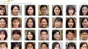 【阿修】人工智能生成的图片有多逼真?我用程序生成了200张黄种人的脸